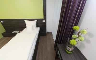 Einzelzimmer Economy-hotel ulm