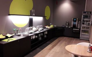 Frühstücksraum economy-hotel ulm